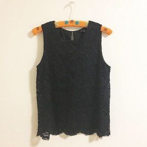 sleeveless blouse / Banana Republic